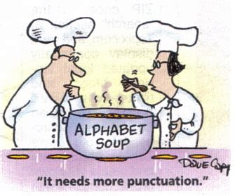 Punctuation in resume writing
