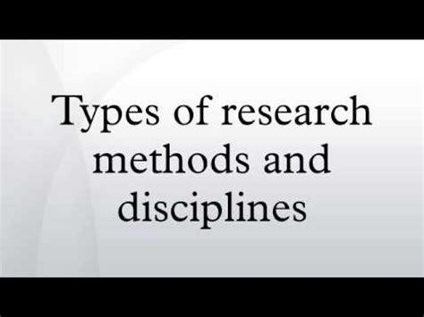 Methods Section: Chapter Three - Statistics Solutions